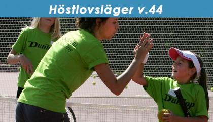 Höstlovsläger Tennis v.44