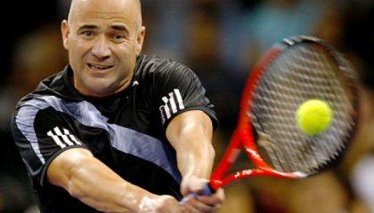 Tennis Tricks med Andre Agassi