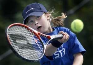 tennis nybörjare 10 - 17 år fortsättning Stockholm Tennis Academy