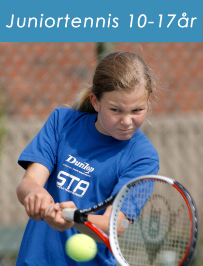 Juniortennis 10-17 år